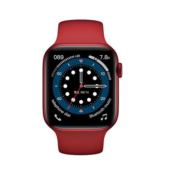 Relógio Smartwatch IWO 13 serie 6 - Tela Infinita - Vermelho - 44mm