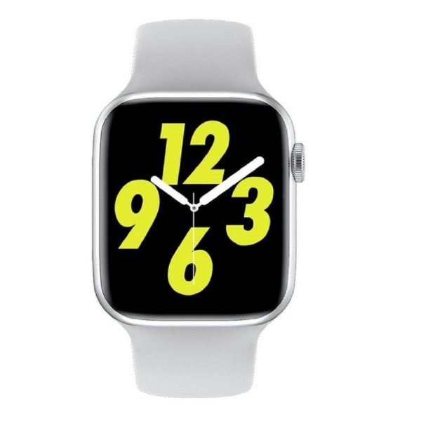 Relógio Smartwatch IWO W26 PRO - Branco - Tela Infinita - IOS / Android - 44mm