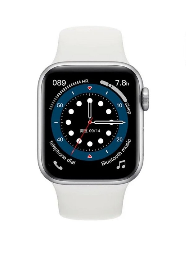 Relógio Smartwatch IWO 13 Serie 6 - Tela Infinita - Branco - 40mm