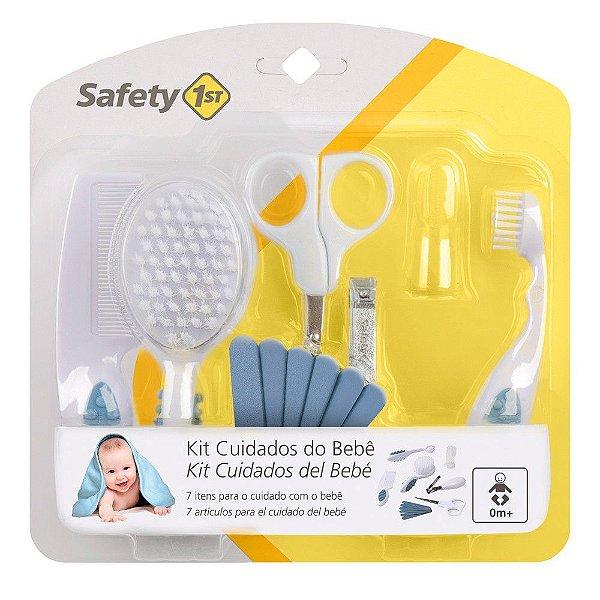 Kit Primeiros Cuidados de Seu Bebê Azul - Safety 1st