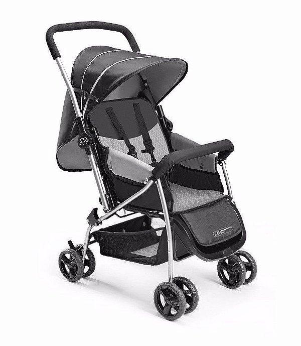 Carrinho De Bebê Berço Flip Preto Multikids Baby - Bb505