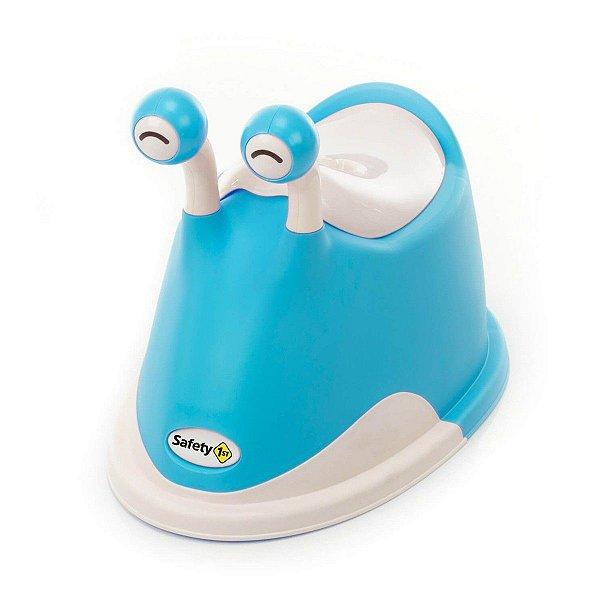 Troninho Bebê Criança Slug Potty Safety 1st Azul