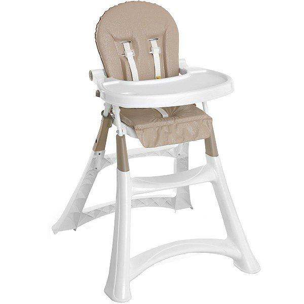 Cadeira de Refeição Bebê Portátil Alimentação 0 Até 15Kg Alta Premium Galzerano Sand 5070SND