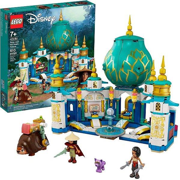Lego Disney Raya e o Palácio Coração com 610pçs +7 Anos