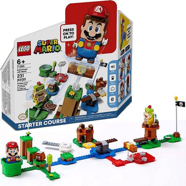 LEGO Super Mario Aventuras - Início 231 peças A Partir de +6 Anos