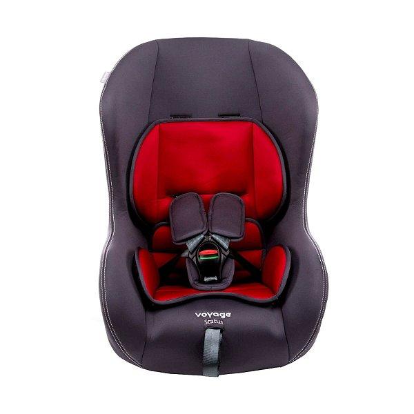 Cadeira de Bebê 0 até 25 Kg Status Voyage Cinza e Vermelho