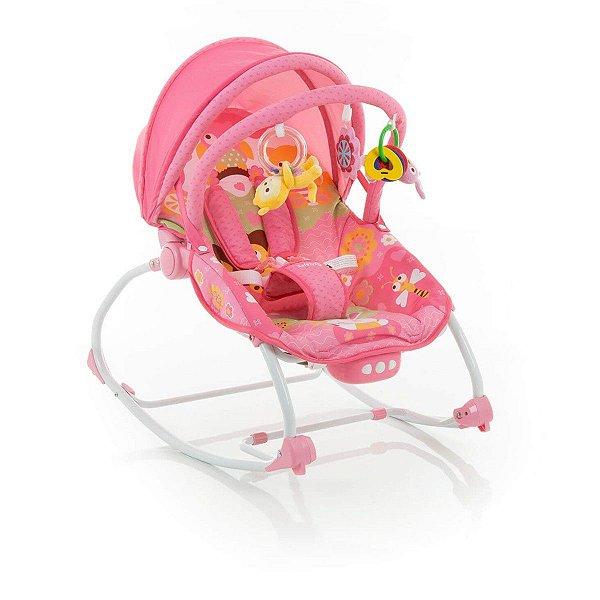 Cadeira de descanso Bebê 0 Até 18 Kg Bouncer Sunshine Baby Safety 1st Rosa