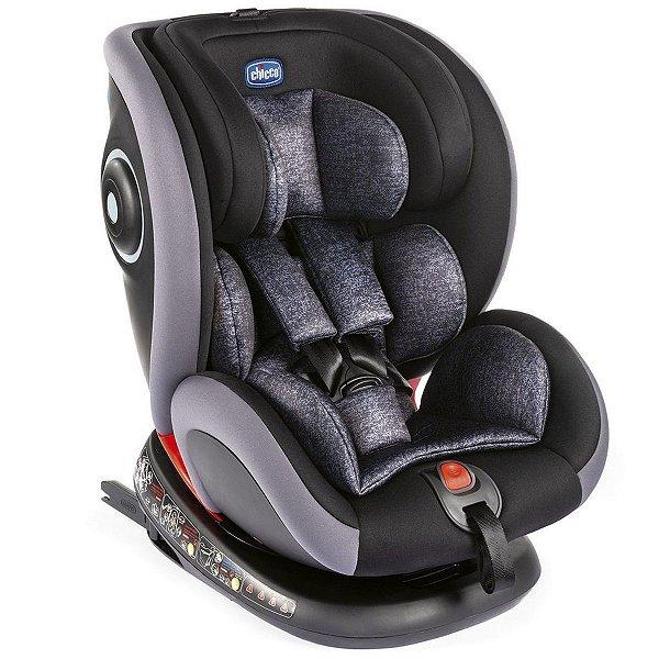 Cadeirinha Para Auto Bebê Conforto Criança 0 Kg Até 36 Kg Nascimento Aos 12 Anos Seat4Fix Chicco Grafite