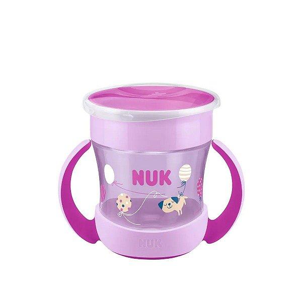 Copo de Bebê Com Alça 160ml 360° Mini Magic Cup NUK Evolution Girl