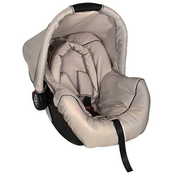 Bebê Conforto Cadeirinha Auto Carro 0 Até 13Kg Dispositivo de Retenção Piccolina Galzerano Preto Bege