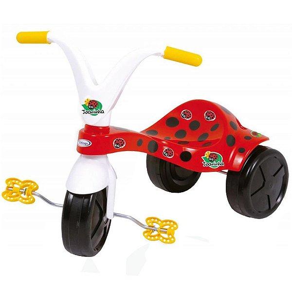 Triciclo Com Estampa De Joaninha