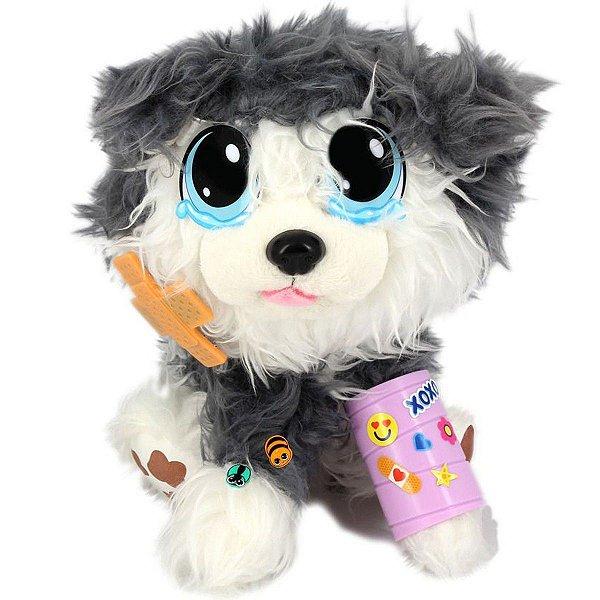 Pelucia Para Pentear Adota Pets Com Acessórios Ozzy
