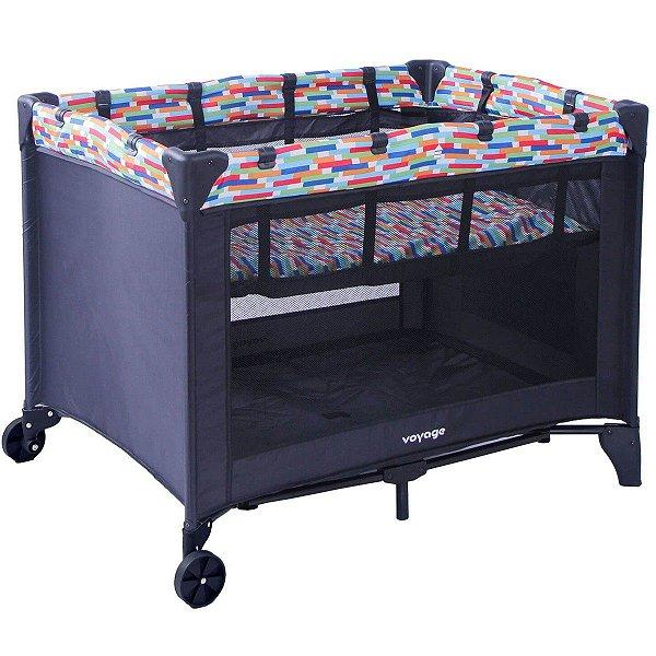 Berço de Bebê Portátil Com Mosquiteiro Compacto Para Viagem Sleep Colore Voyage
