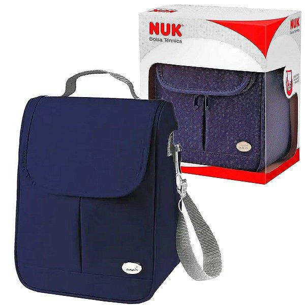 Bolsa Térmica Para Mamadeiras e Acessórios Capacidade 8 Litros Azul Nuk