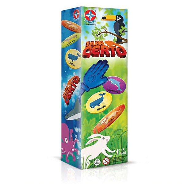 Brinquedo Jogo Criança Tapa Certo - Estrela