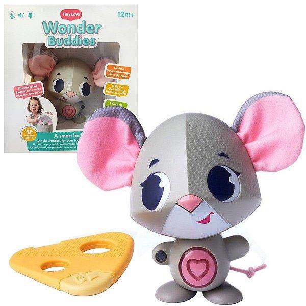Brinquedo Interativo de Bebê Wonder Buddies Coco Chanel com Luzes, Sons e 7 Atividades - Tiny Love