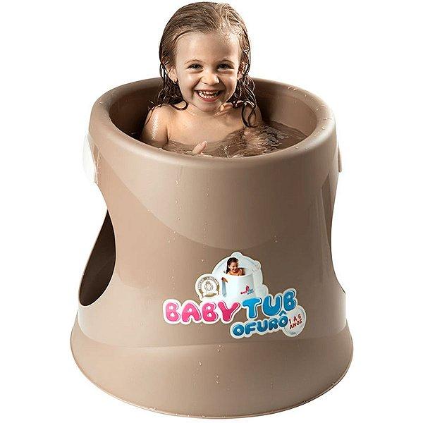 Banheira Infantil Ergonômica BabyTub Ofurô Ouro De 1 até 6 Anos