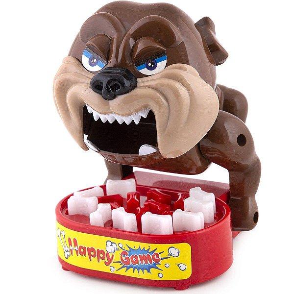 Jogo Brinquedo Criança Mini Bad Dog Cuidado Com os Ossos - Polibrinq