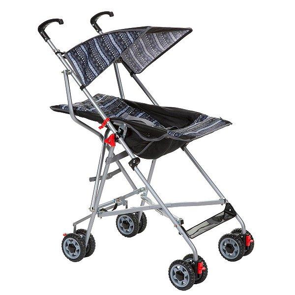 Carrinho de Bebê Passeio Voyage Umbrella Slim Preto