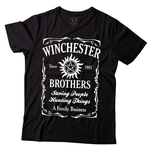 Camiseta Supernatural - Winchester Brothers