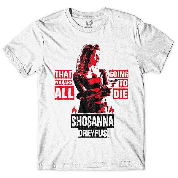 Camiseta Bastardos Inglórios - Shosanna Dreyfus