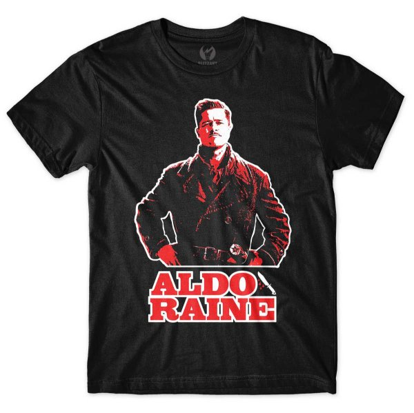 Camiseta Bastardos Inglórios - Aldo Raine