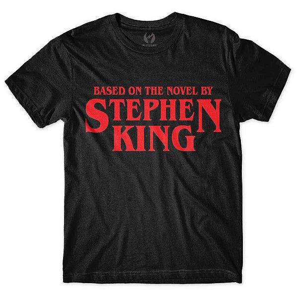 Camiseta Stephen King Preta