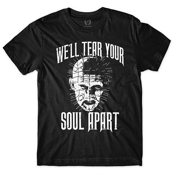 Camiseta Hellraiser Preta
