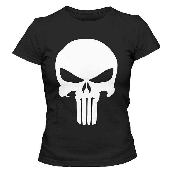 Camiseta Feminina O Justiceiro - Punisher