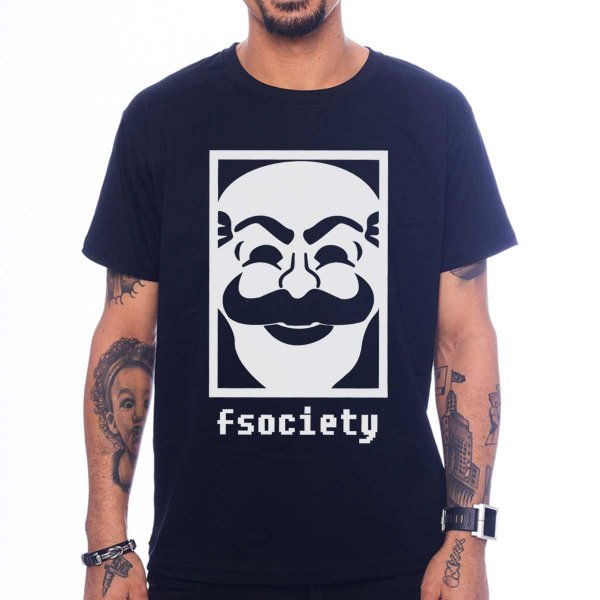 Camiseta Mr. Robot - Fsociety