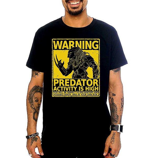 Camiseta Predador - Warning