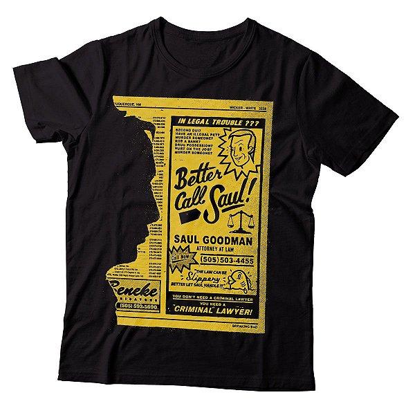 Camiseta Better Call Saul