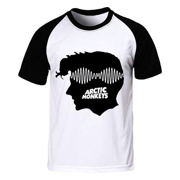Camiseta Raglan Arctic Monkeys - AM