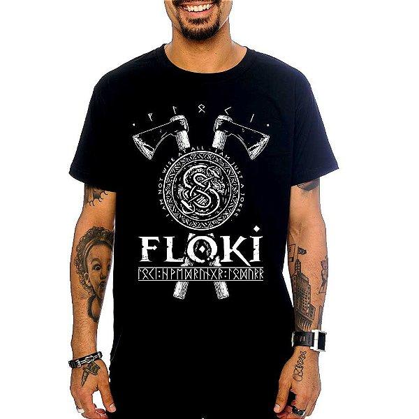Camiseta Vikings - Floki