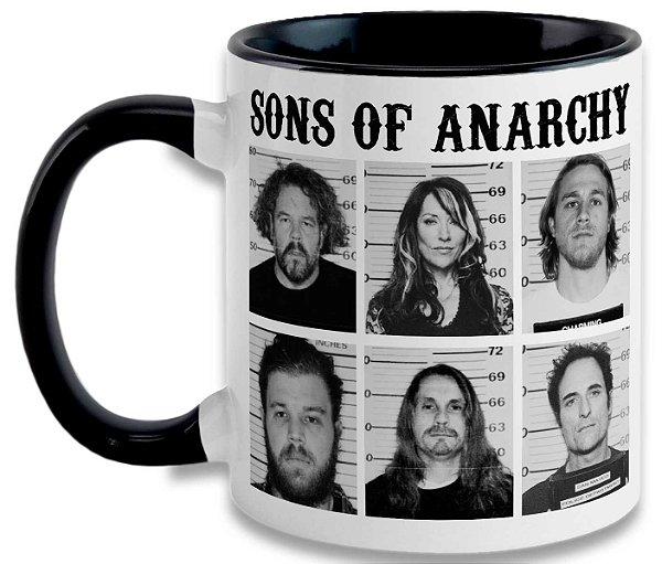 Caneca Sons of Anarchy - Mugshot