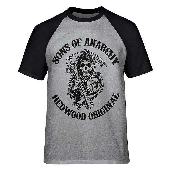 Camiseta Raglan Sons of Anarchy - Redwood Original