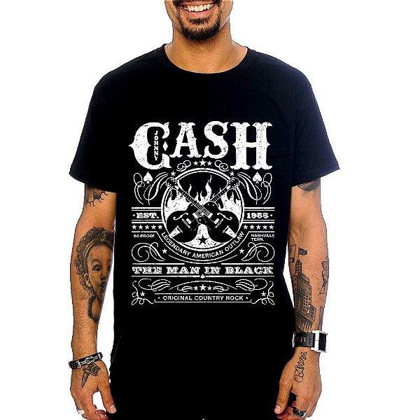 Camiseta Johnny Cash - Est 1955