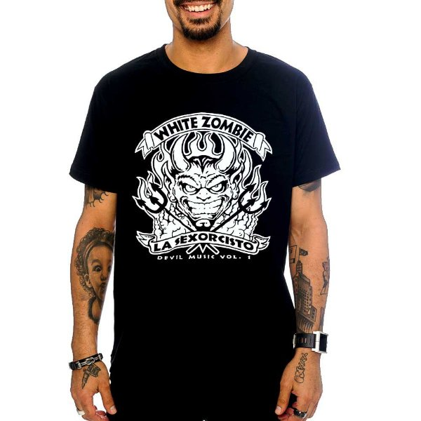 Camiseta White Zombie - Devil Music