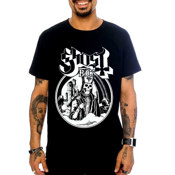 Camiseta Ghost - Secular Haze