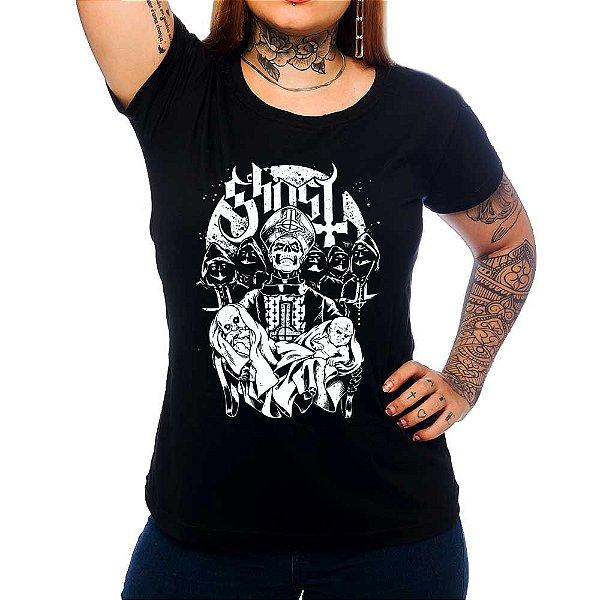 Camiseta Feminina  Ghost - Born