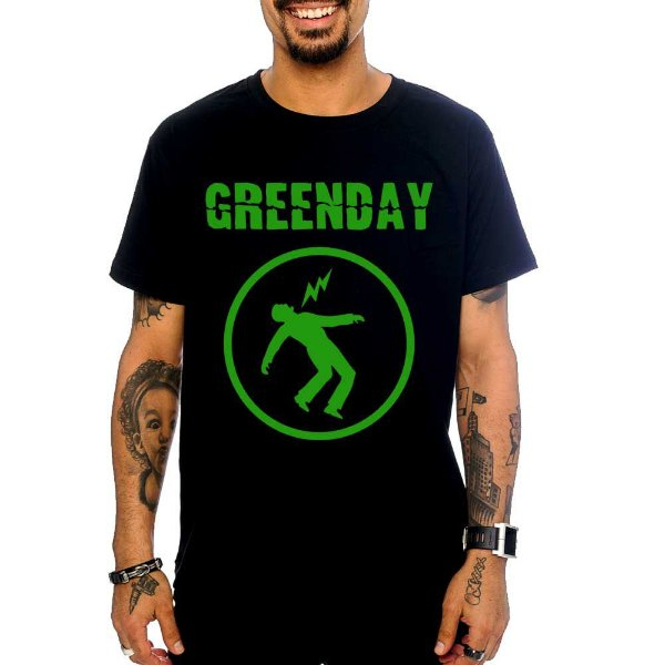 Camiseta Green Day - Warning