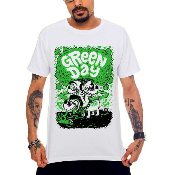 Camiseta Green Day - Dog