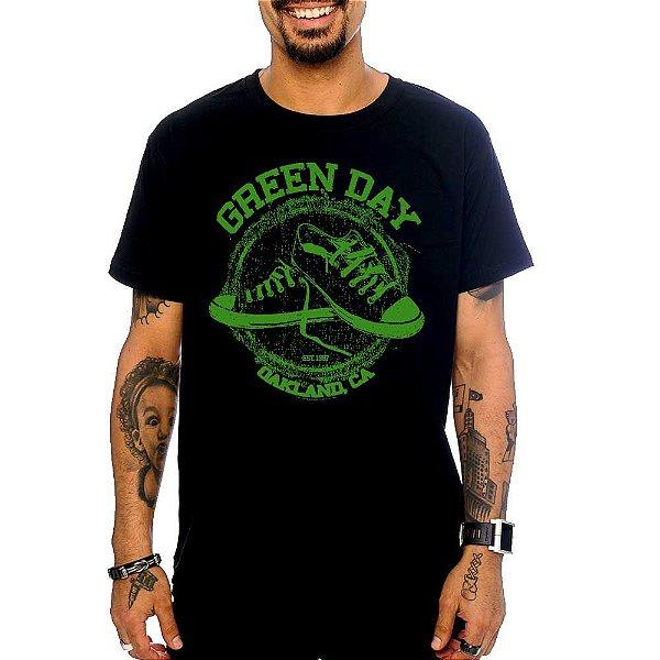 Camiseta Green Day - Oakland