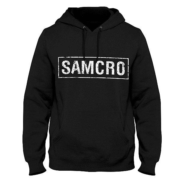 Moletom Sons of Anarchy - SAMCRO (Estampa Costas)