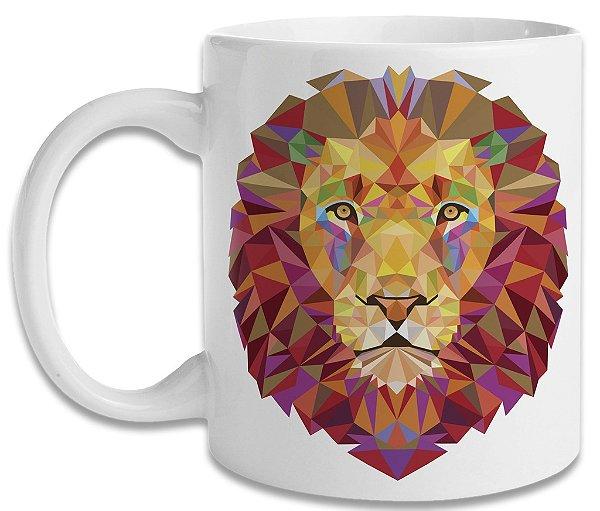 Caneca Geometric Lion