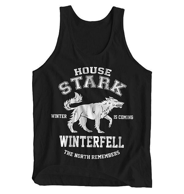 Regata Masculina Game of Thrones - House Stark Winterfell