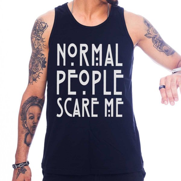 Regata Masculina American Horror Story - Normal People Scare Me