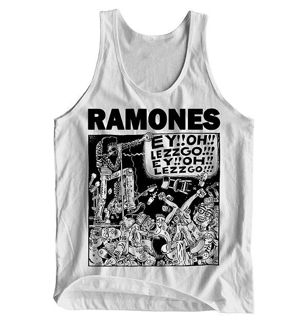 09f521ef6a Regata Masculina Ramones - Let s Go! - Blitzart - Camisetas Legais ...