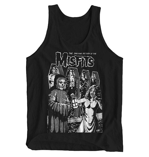 Regata Masculina Misfits - The Shocking