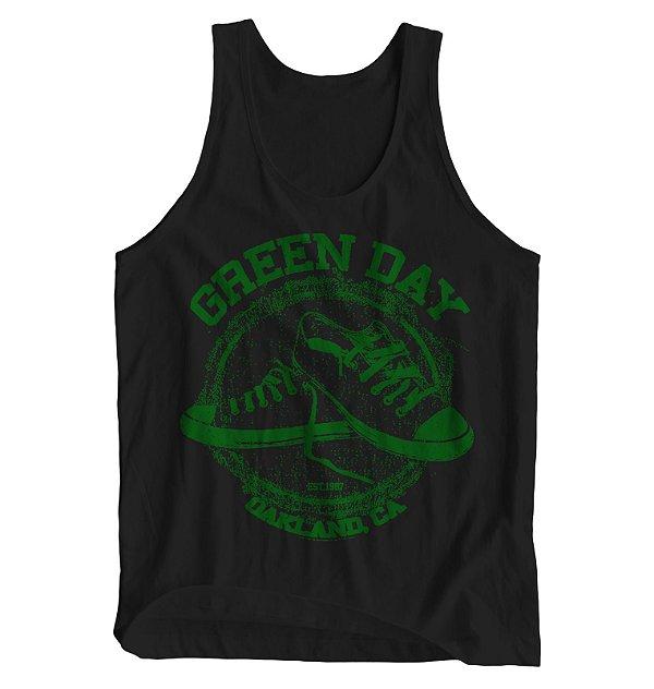 Regata Masculina Green Day - Oakland